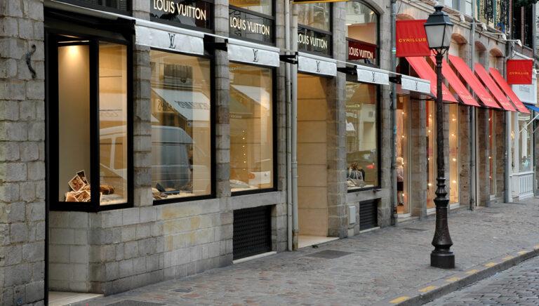 Détermination de la ou des valeurs locatives de boutiques