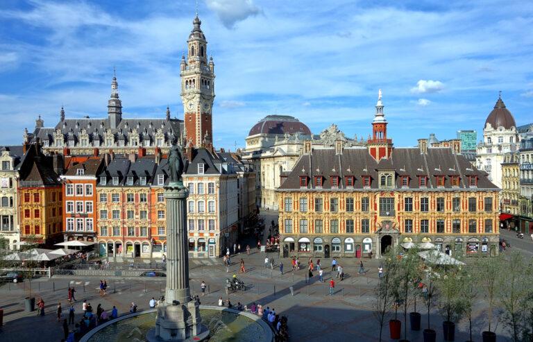 Marché des commerces à Lille